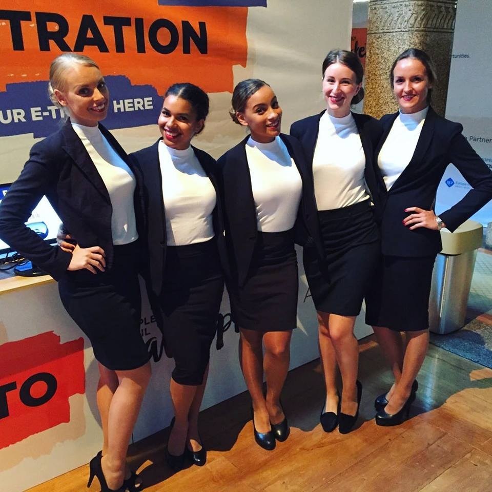 beurs congres Hostesses Exhibition staff Jaarbeurs Utrecht