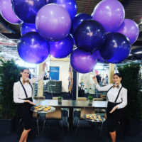 flyfood eyecatchers hosts gastvrouw events